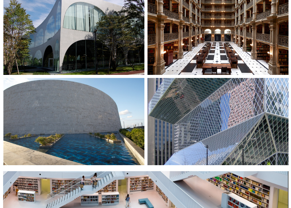 Le più belle Biblioteche del Mondo 🌍